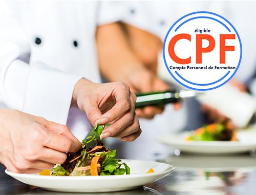 Utiliser Le Cpf Pour Se Former Au Cap Cuisine