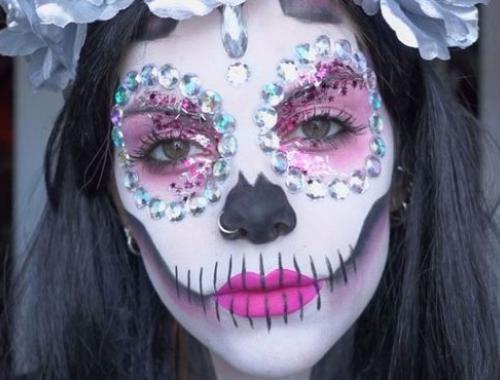 Comment Faire Un Maquillage D Halloween.Comment Trouver Et Reussir Son Maquillage Pour Halloween Espace Concours