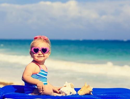PACKS Petite Enfance bébé plage lunettes