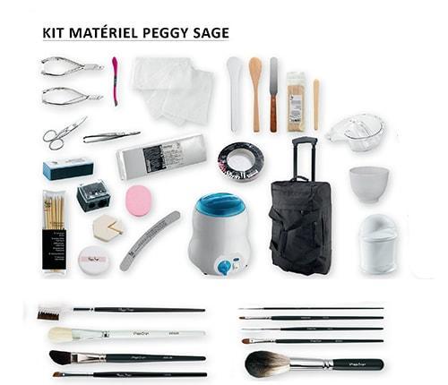 Kit Ecole Complet du CAP Esthétique Cosmétique Parfumerie LE MATERIEL