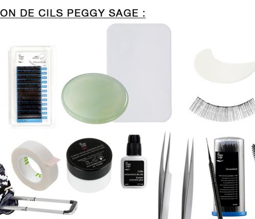 Kit extension de cils PEGGY SAGE