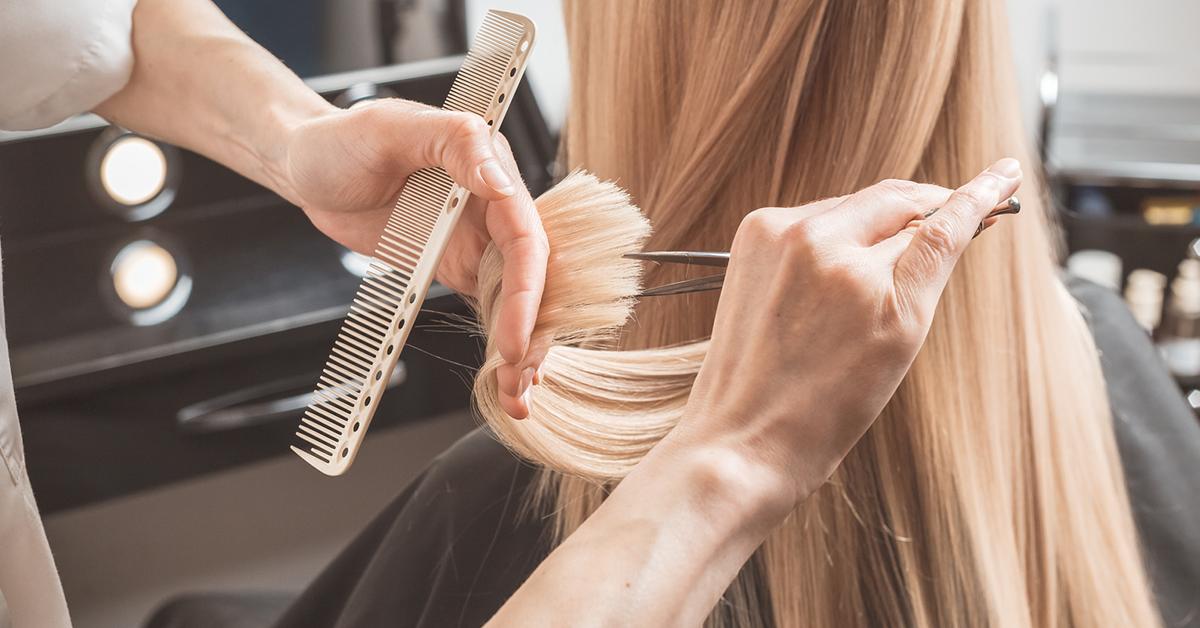 examen de coiffure