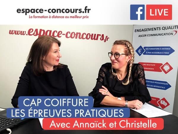 Pour tout savoir sur les épreuves pratiques du CAP Coiffure, suivez la formation coiffure d'Espace Concours.