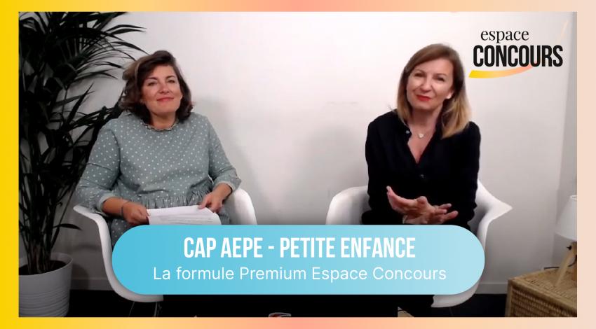 CAP Petite Enfance (AEPE) : la formule Premium Espace Concours