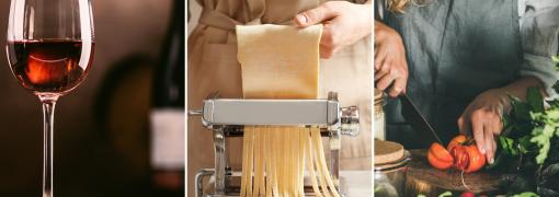 Nouveau chez Espace concours : L'œnologie, les pâtes fraîches et la cuisine vegan complètent la formation CAP Cuisine