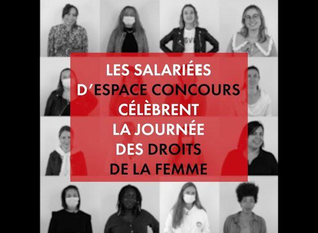 Les salariés d'Espace Concours célèbrent la journée des droits de la femme !
