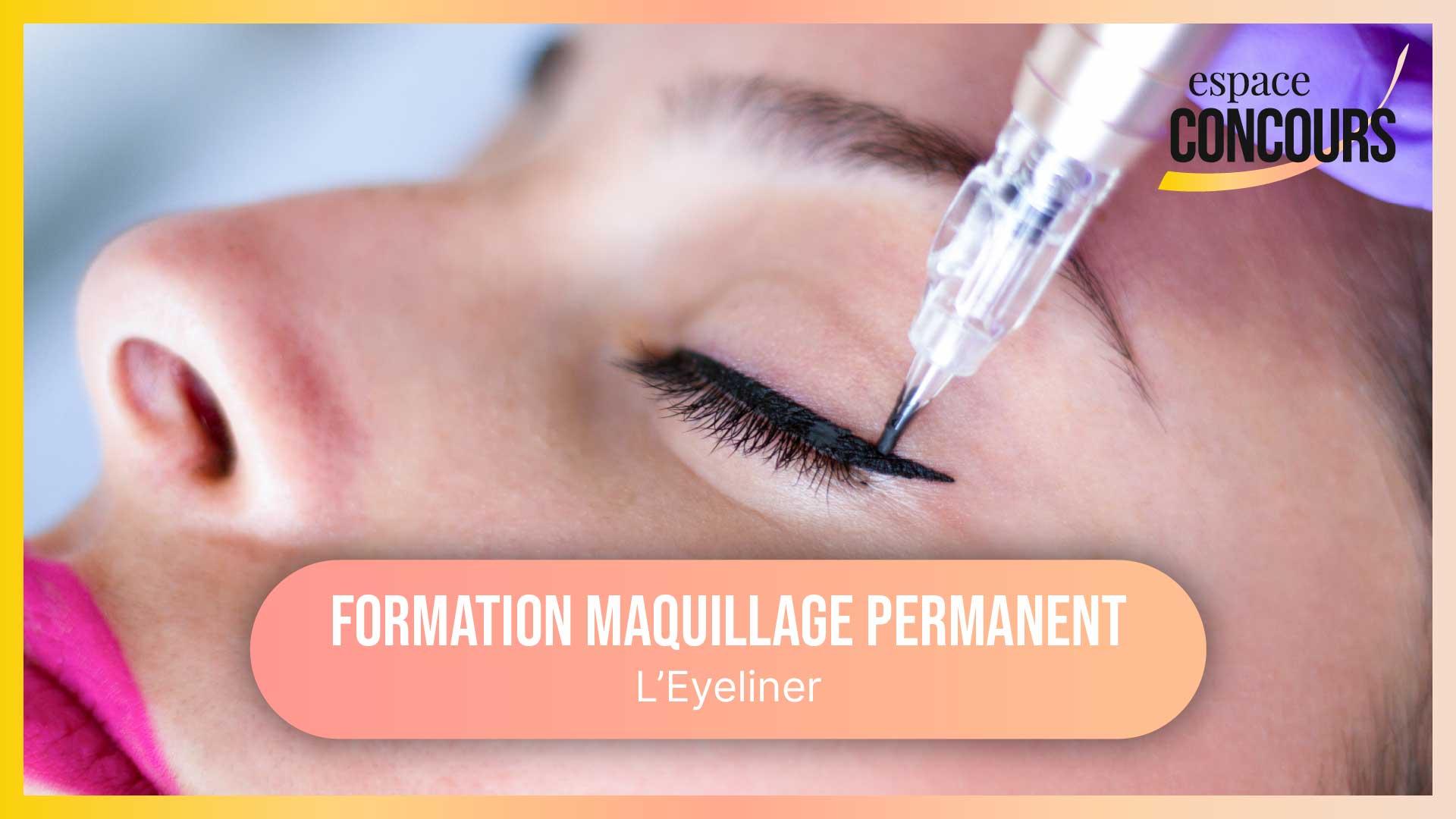 Dermopigmentation Eyeliner [Formation Maquillage Permanent – Vidéo Tuto – Extrait de cours]