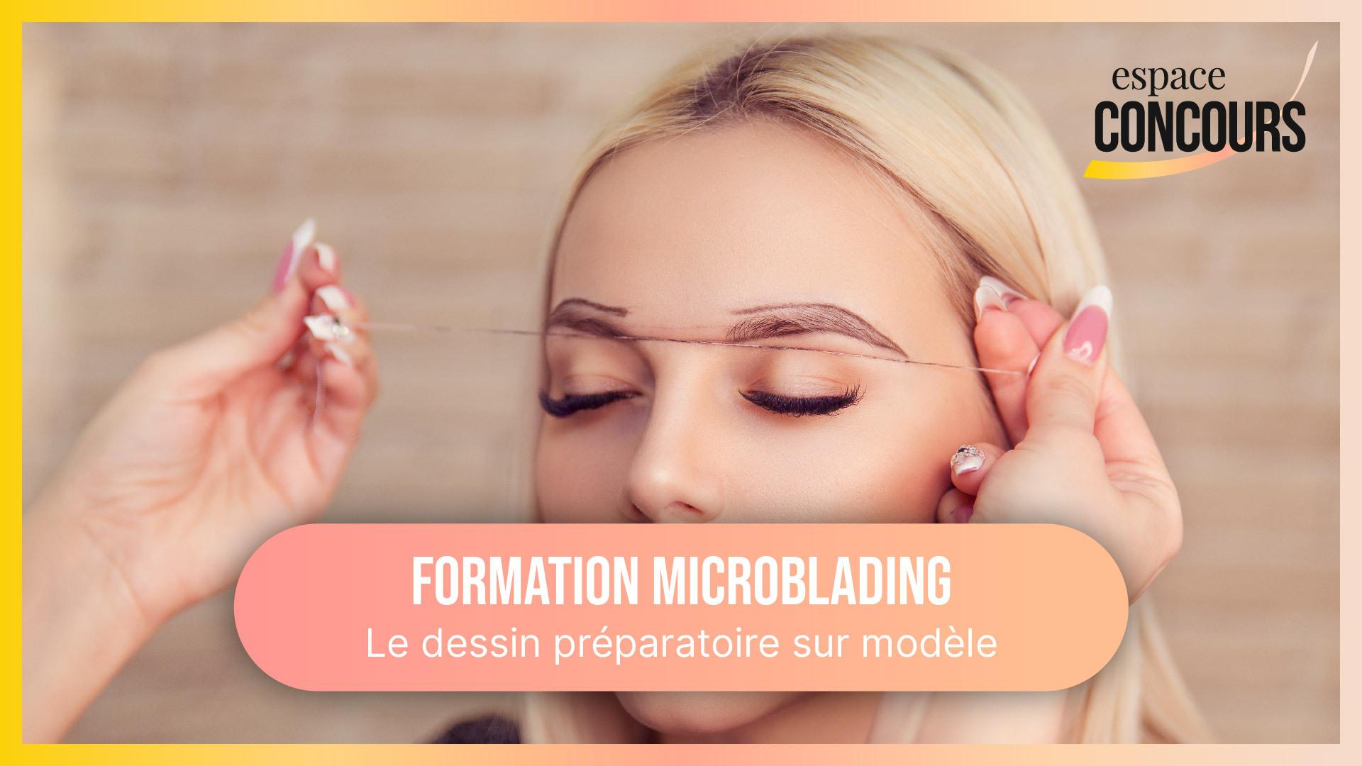 Dessin sur peau avant pigmentation [Formation Microblading – Vidéo Tuto – Extrait de cours]