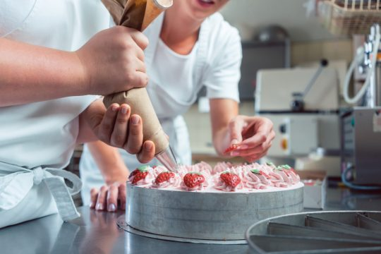 Le métier de pâtissier