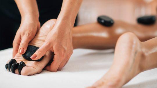 déroulement massage pierres chaudes